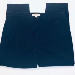 Michael Kors Dark Navy Blue Cropped Pants